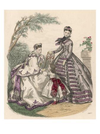 Women & Girl 1864