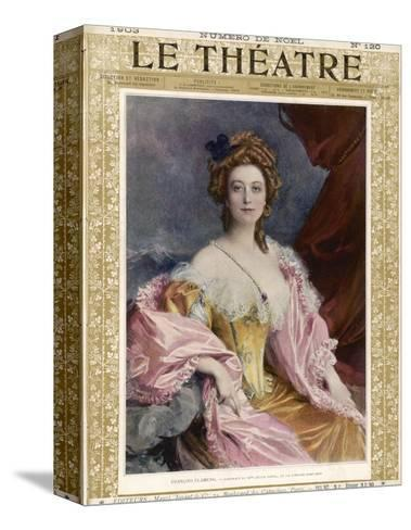 Cecile Sorel French Actress of the Comedie-Francaise