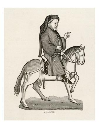 Chaucer Depicted as the Narrator of the Tales