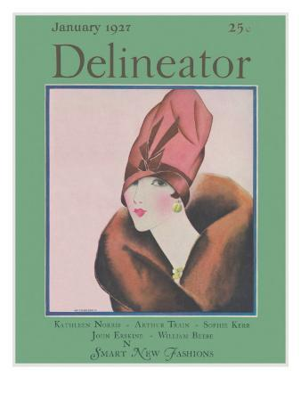 Delineator Cover January 1927