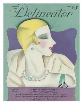 Delineator Cover January 1929