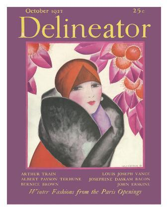 Delineator Cover, October 1927