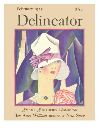 Delineator Front Cover, February 1927
