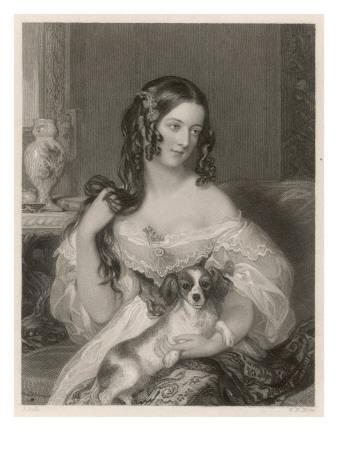 Duchess Cleveland and Dog