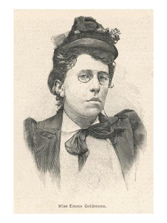 Emma Goldman Lithuanian-Born American Anarchist Politician and Agitator