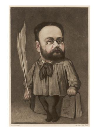 Emile Zola French Writer and Champion of Dreyfus