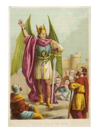Diabolus Chides the People
