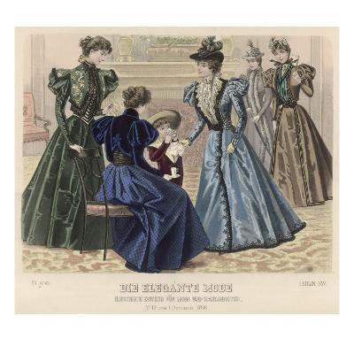 Female Dress of 1896