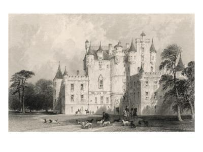 Glamis (Glame's) Castle, Forfarshire