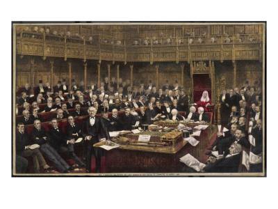 Gladstone Delivers His Last Speech in the House of Commons