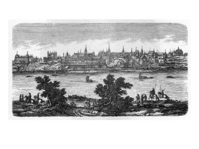General View of Warszawa, Seen across the Vistula