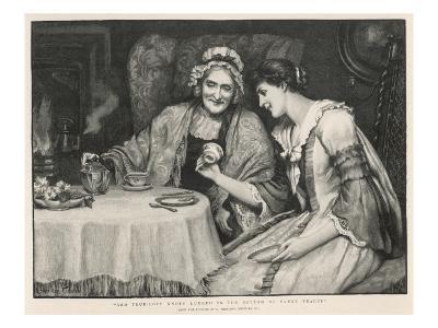 Fortune Teller, Reading Tea Leaves