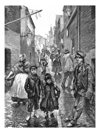 General Street Scene in Cork, Ireland