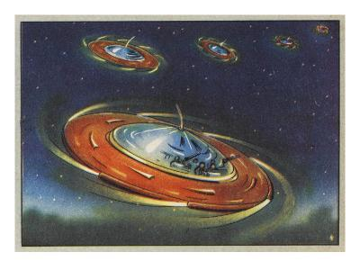 'Flying Saucers' - Disc-Shaped Space Vehicles