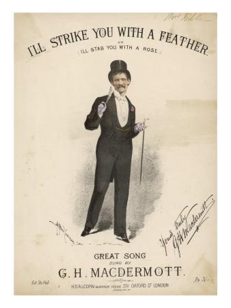 Great Macdermott, Music Hall Singer
