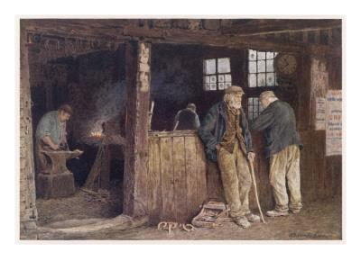 Geering's Forge, in Rolvenden, Kent