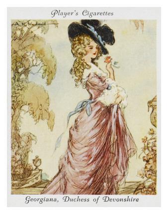 Georgiana Spencer Duchess of Devonshire