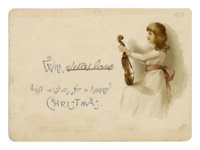 Girl with Her Violin
