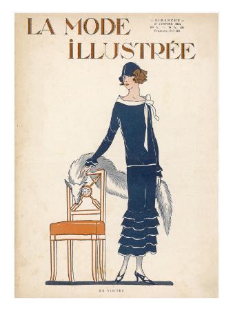 Fox Fur Stole 1924