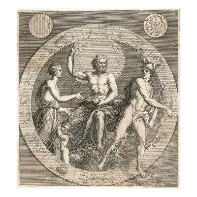 Greek Gods: Aphrodite, Cupid, Zeus and Hermes