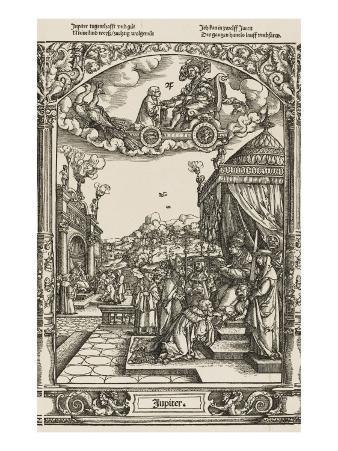 Jupiter in Chariot, Ensuring Splendid Order Is Kept as Pope Crowns King