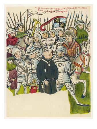 Jan Hus Bohemian Religious Reformer, Burnt at the Stake