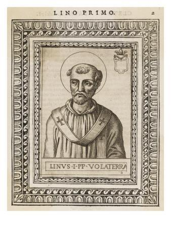Pope Linus the Second Pope, Following Peter : Saint