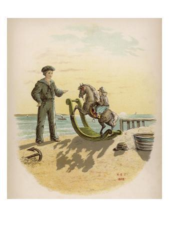 Rocking Horse Seaside