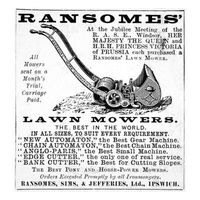 Ransome's Lawn Mowers