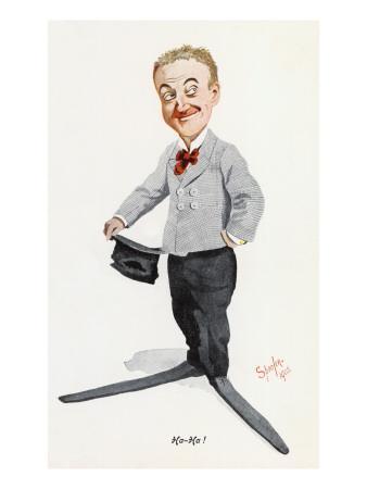 Little Tich (Harry Relph) Music Hall Entertainer
