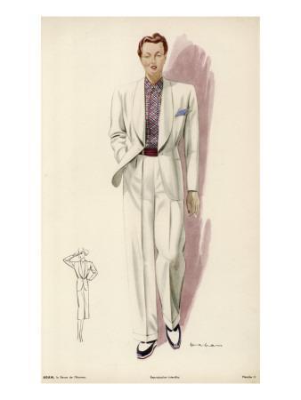 Lesbian in Suit 1939
