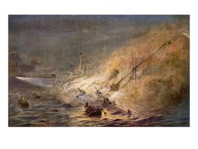 Leipzig Sinking 1914