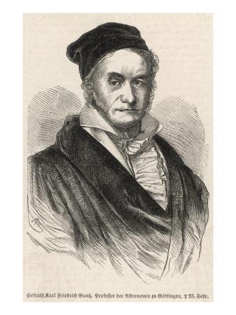 Karl Friedrich Gauss German Scientist