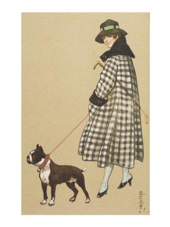 Lady and Boston Terrier