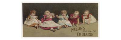 Mellin's Cod Liver Oil Emulsion