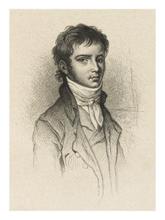 Ludwig Van Beethoven German Composer Portrait in Vienna, 1801