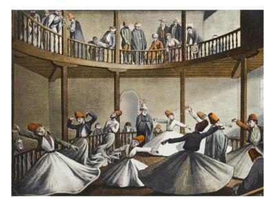 Mevlevi Dervishes - the Sema (Constantinople)