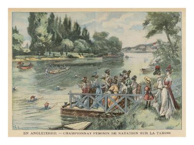 Ladies Swim Contest 1905
