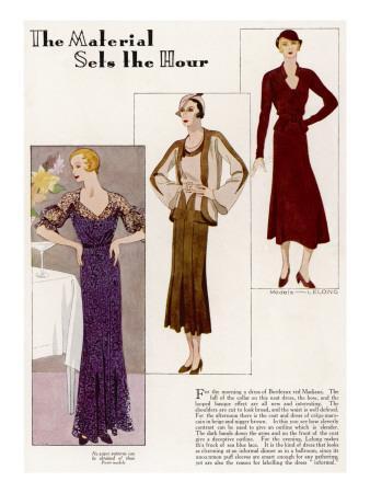 Lelong Fashions 1932