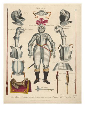 Medieval Knight's Armour