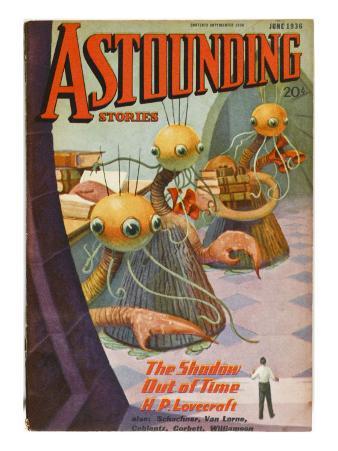 Lovecraft, Aliens, 1936