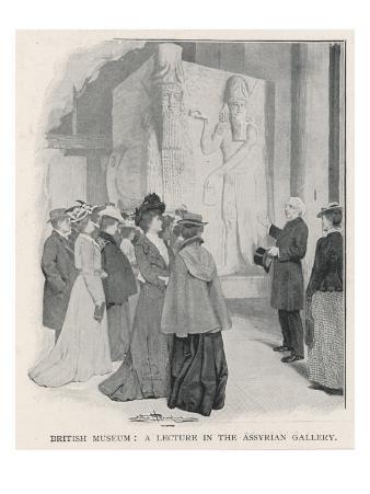 Lecture, British Museum