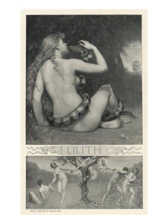Night Vampire Probably of Babylonian Origin