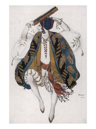 Petroushka Costume Design by Leon Bakst