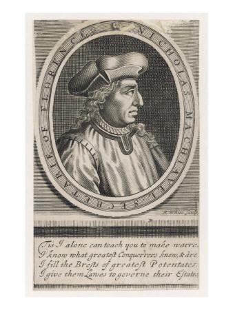 Niccolo Machiavelli Italian Political Theorist