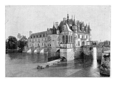 One of the Most Picturesque Chateaux De La Loire
