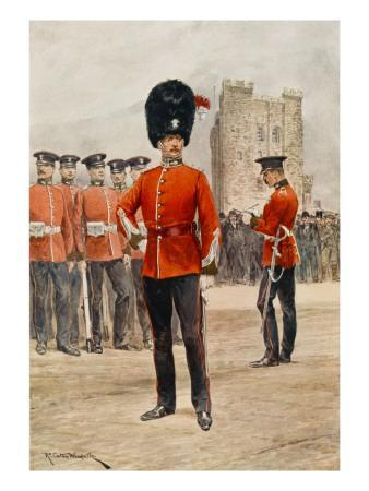 Northumberland Fusiliers (Note : 4th Battalion Has Green Uniform with Scarlet Facings)