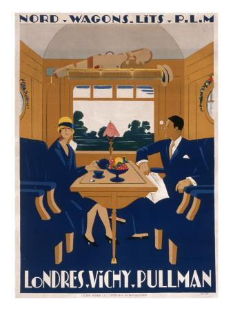Nord Wagons-Lits Poster