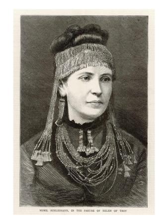 Mme.Schliemann and Jewels
