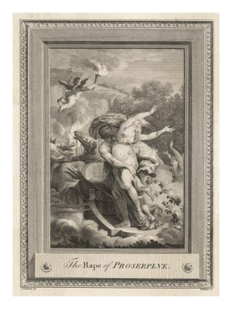 Persephone Is Abducted by Hades and Taken to His Underworld Kingdom